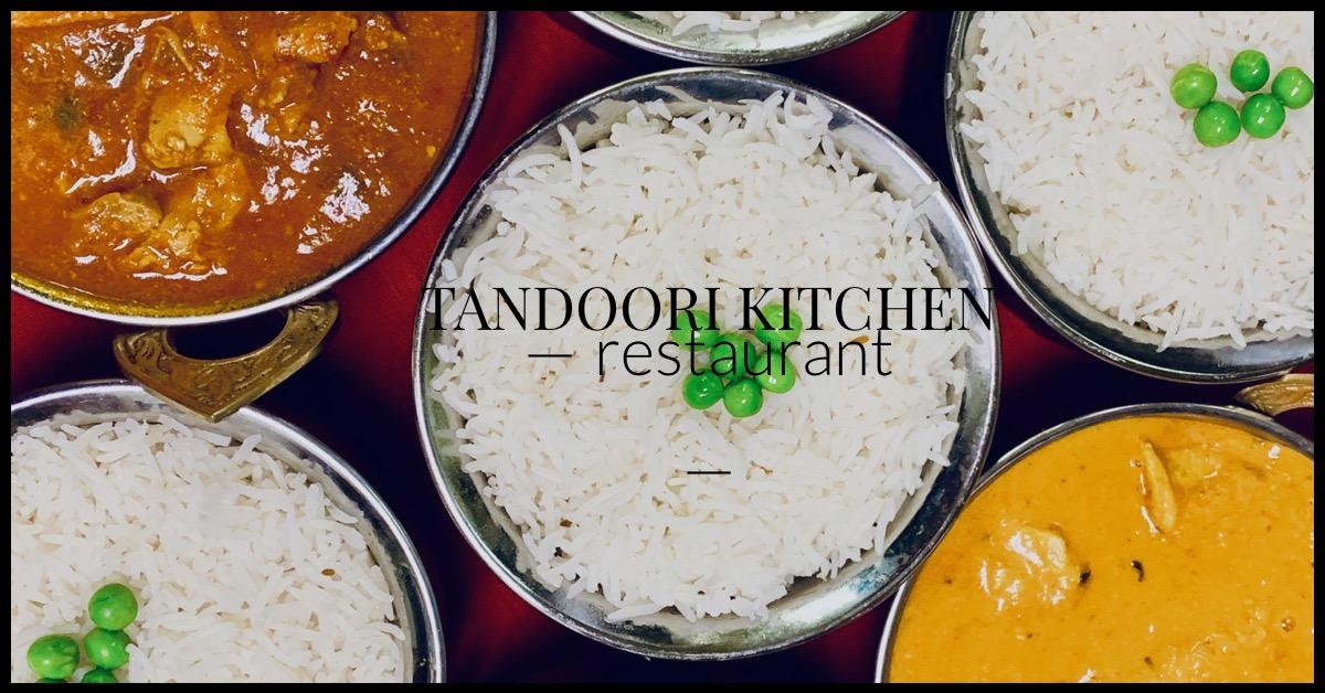 Menu Tandoori Kitchen