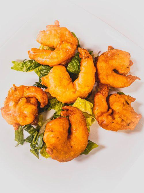 shrimp pakora